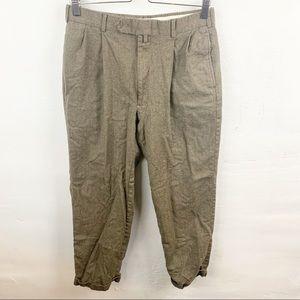 Tommy Hilfiger l Mens Brown Wool Pants